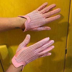 Pink Vintage Driving Gloves!